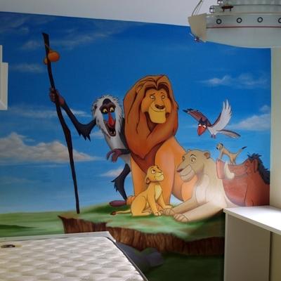 Presupuesto pintar mural online habitissimo - Pintar murales infantiles ...