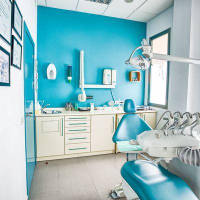 Carpinterías y mobiliario en una clínica dental