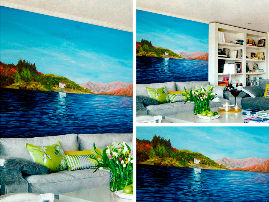 Presupuesto pintar mural online habitissimo for Como pintar un mural