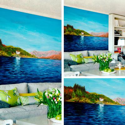 Ideas y precios para pintar un mural habitissimo - Pintar mural en pared ...