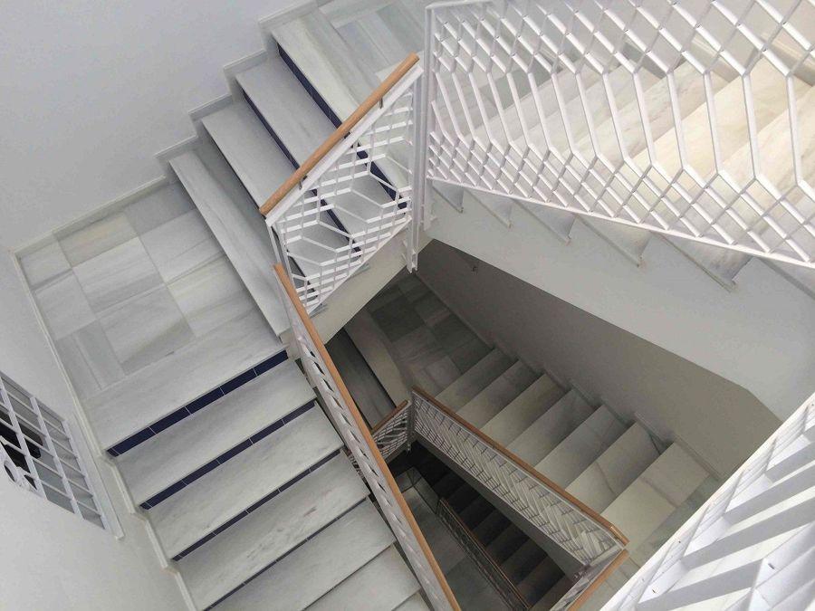 Barandillas metálicas de aluminio
