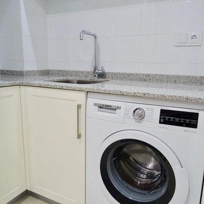 Desatascar la tubería de la lavadora