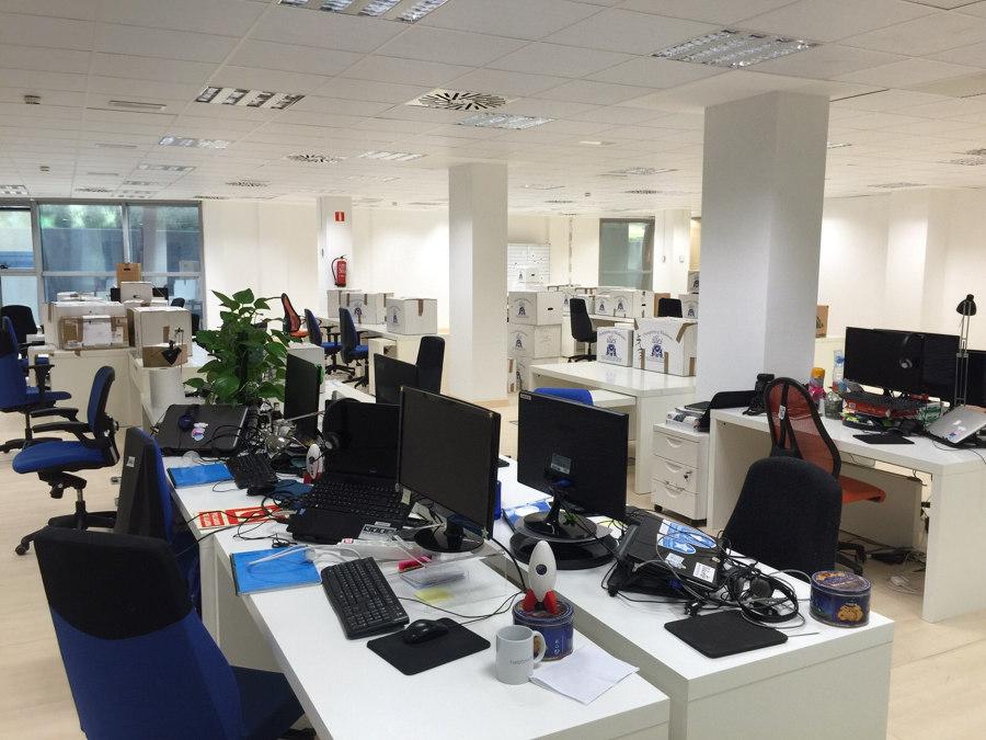 Mudanza provincial de oficinas