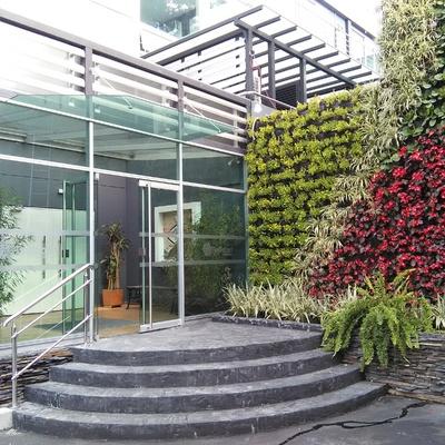 Añadir plantas al patio interior