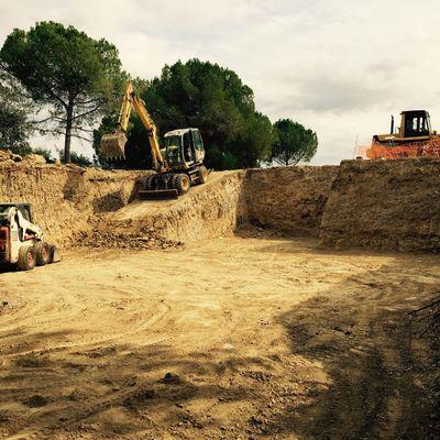 Excavaciones para sótanos