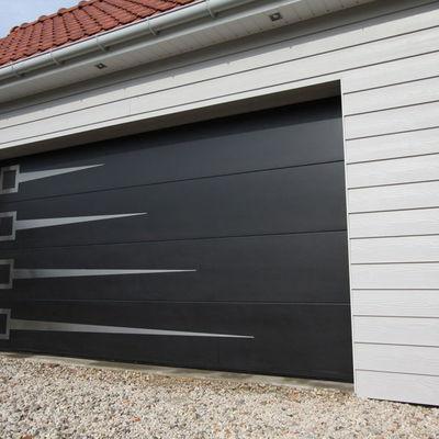 Limpieza de la puerta del garaje