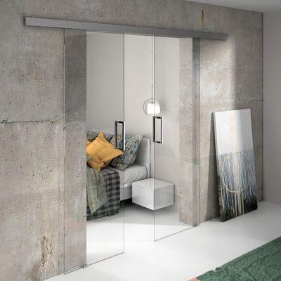 Puertas correderas de cristal para habitaciones