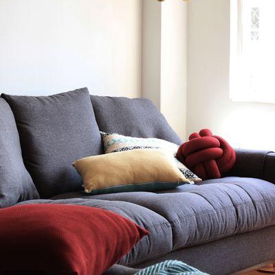 Tapizar sofá con fundas