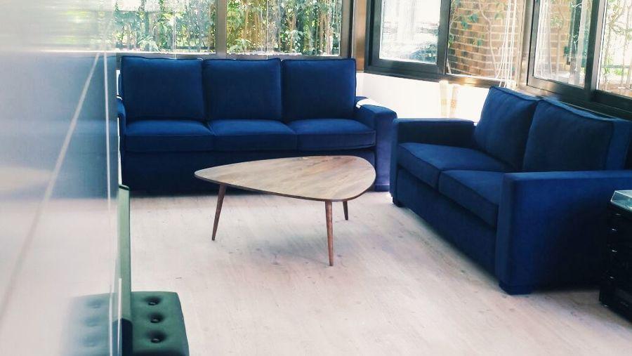 Tapizar un sofá con terciopelo