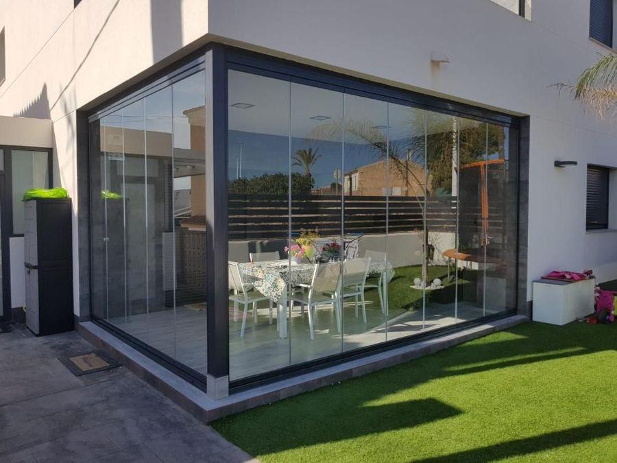 Cerramientos de aluminio para terrazas