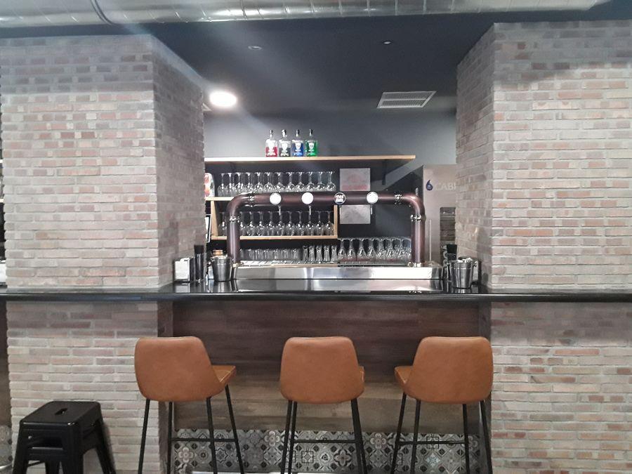 Proyecto y reforma para un bar