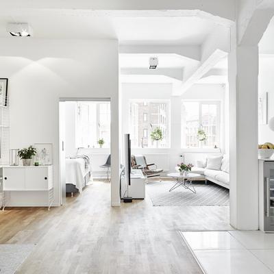 Abrir espacios en el piso