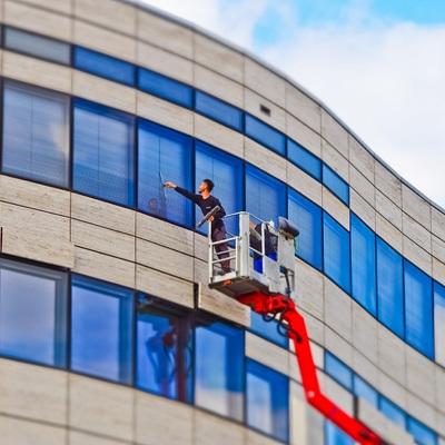 Limpieza de la fachada