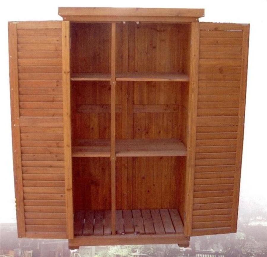 Presupuesto armario exterior madera online habitissimo - Armario exterior madera ...