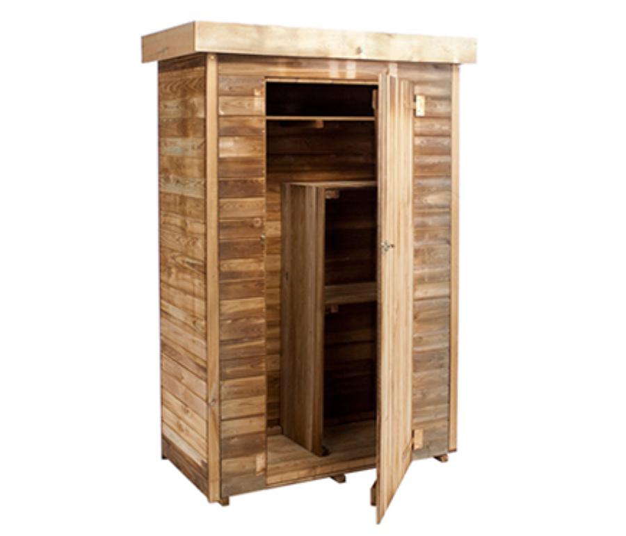 Presupuesto hacer armarios ba o online habitissimo - Armario madera exterior ...