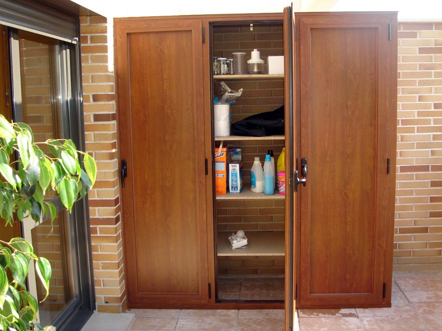 Presupuesto armario aluminio online habitissimo for Armario para balcon exterior