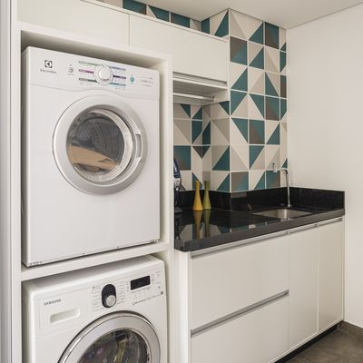 Armarios de aluminio para lavadoras