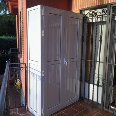 Armarios exteriores de aluminio