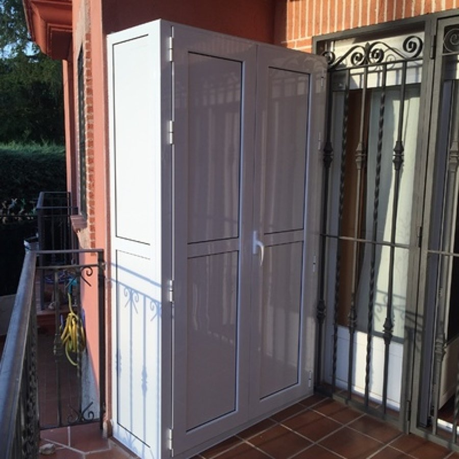 Armarios Exteriores De Resina Cheap Armarios Para Exterior With  ~ Armarios De Aluminio Para Exterior