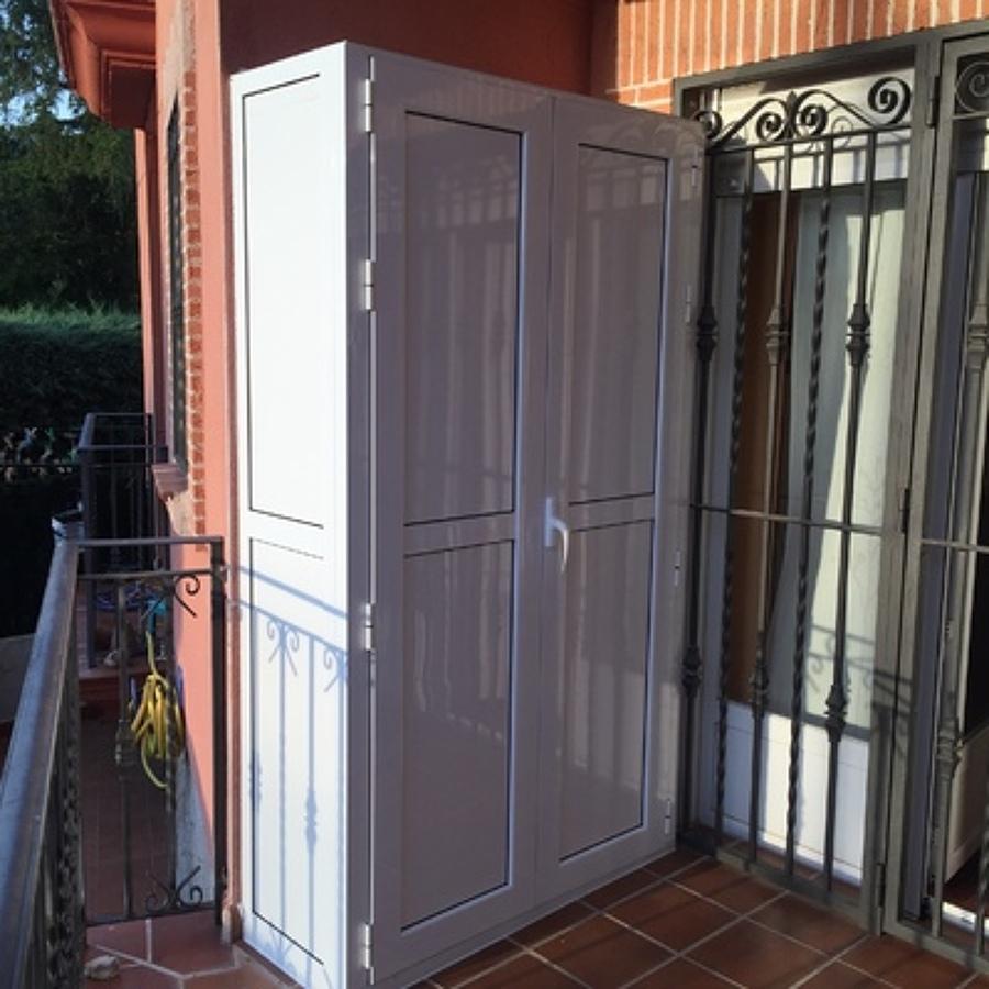 Presupuesto mueble exterior aluminio online habitissimo - Armarios para trasteros ...