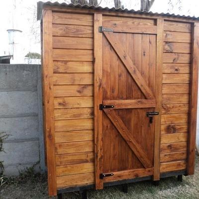 Armarios exteriores de madera