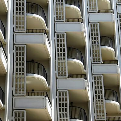 Barandillas de aluminio en terrazas