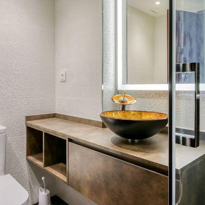 Armario de aluminio para baños