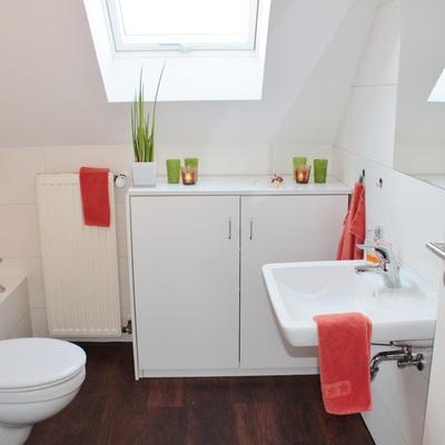 Lacar los armarios del cuarto de baño