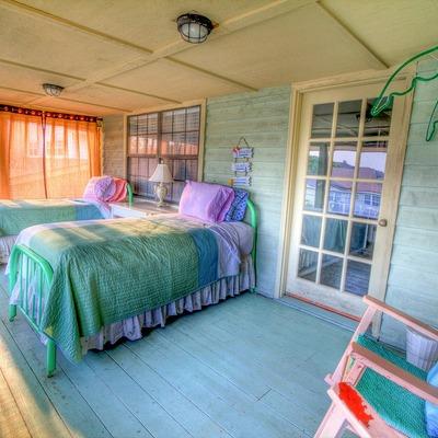 Hacer una habitación en la terraza