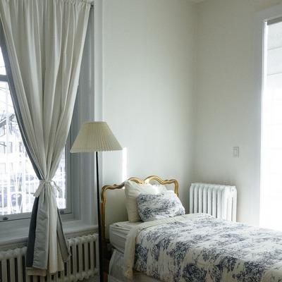 Pintar los dormitorios con pintura plástica