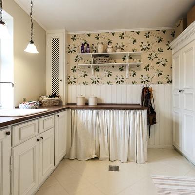 Pintar el suelo de la cocina del dúplex