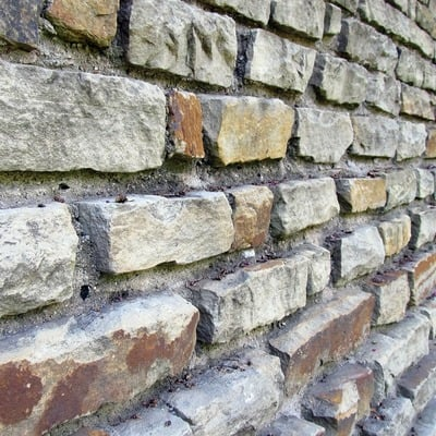 Muros de contención de piedra