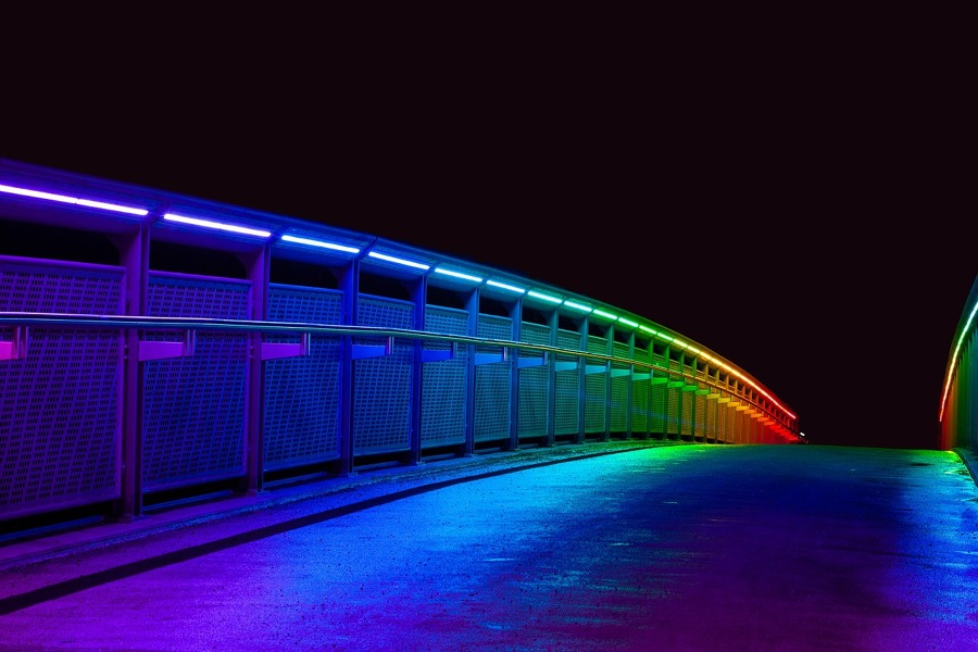 Iluminación de exteriores con LED