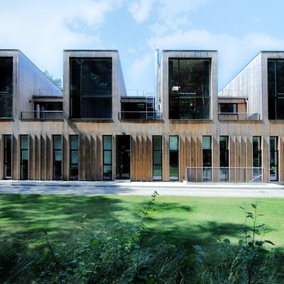 Edificios de construcción sostenible