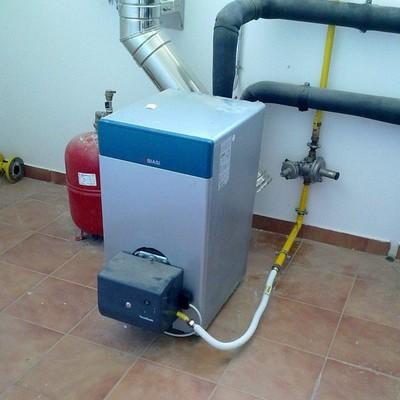 Caldera de gasoil de baja temperatura
