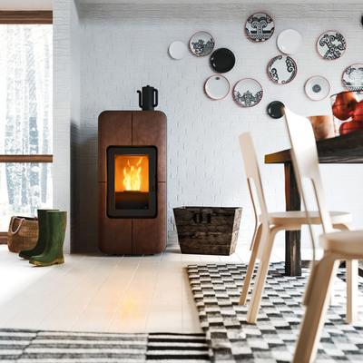 Calefacción de pellets. Estufas y calderas
