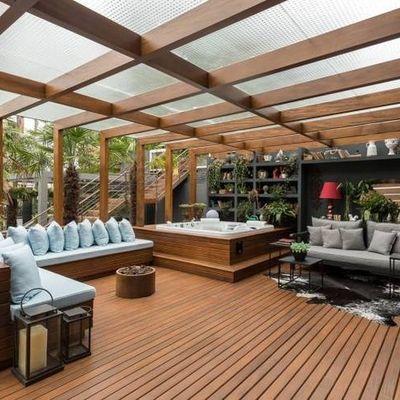 Cambiar mobiliario y decoración del patio