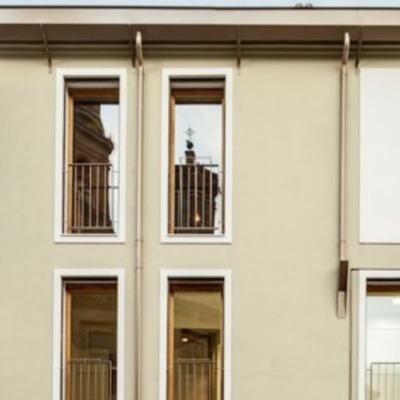 Casa con estructura de acero