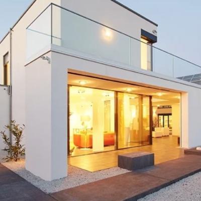 Casa con estructura de hierro