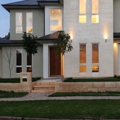 Casa con estructura de hormigón