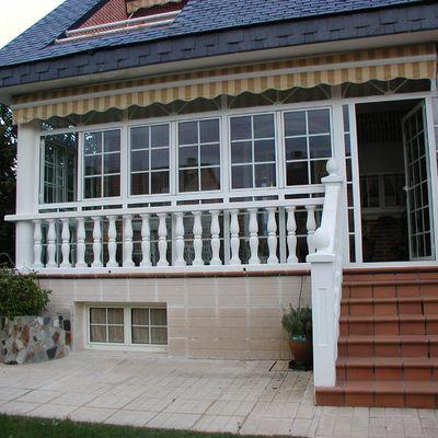 Cerramientos de PVC para balcones