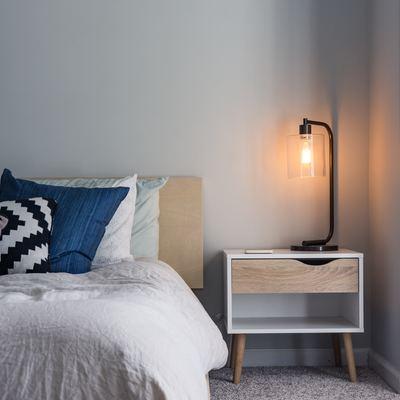 Separar el dormitorio con un panel