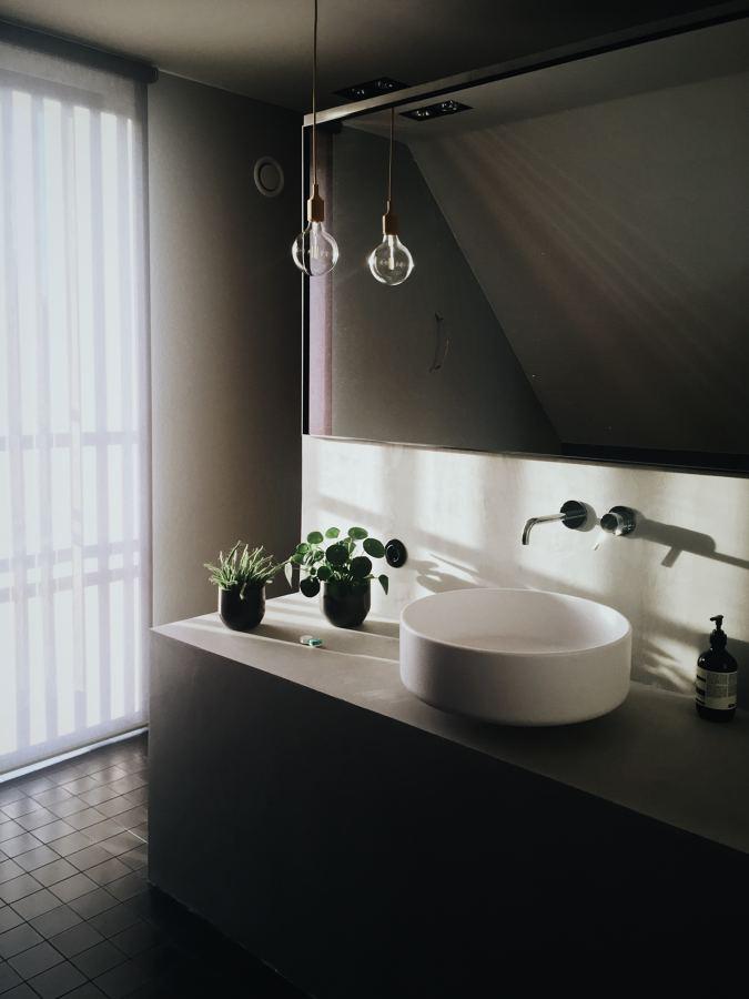 Materiales más utilizados en encimeras de baño