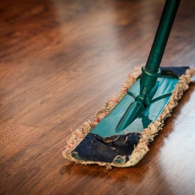 Limpieza puntual de la casa
