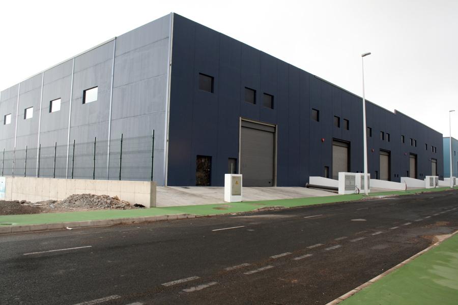 Construcción de edificios industriales