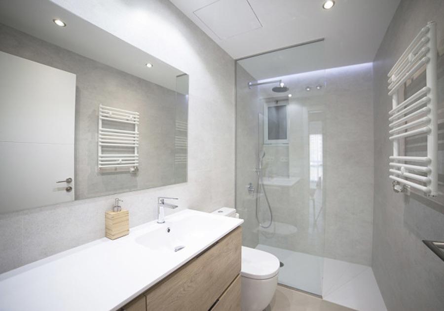 Construcciones de obra seca en el baño