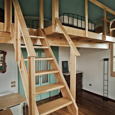 Construir altillo de madera