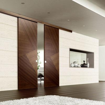 Cambiar el sistema de una puerta a corredera habitissimo - Colocar puerta corredera ...