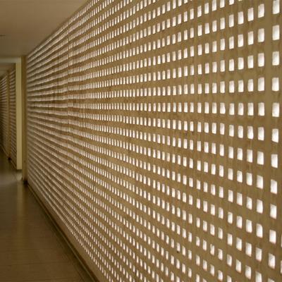 Panel LED en la pared