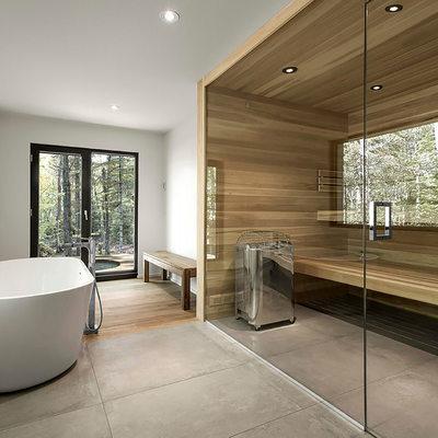 Innovaciones en las construcciones de saunas
